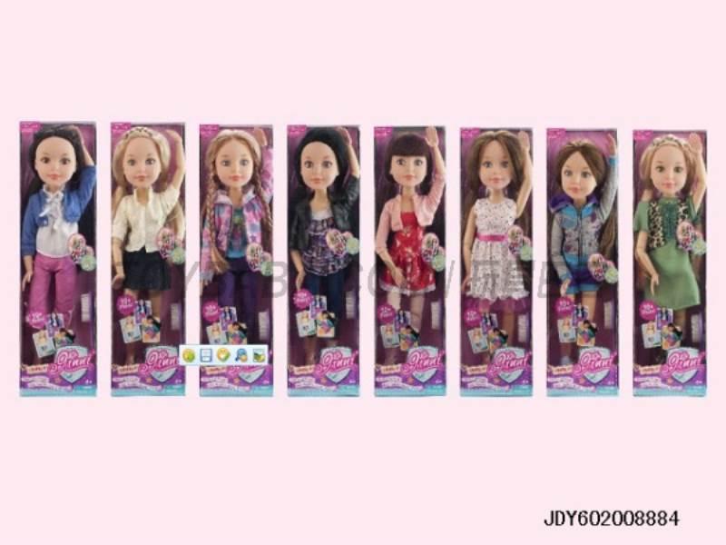 Ginny girl 18 inch fashion dolls ( 8 asst ) No.:63061