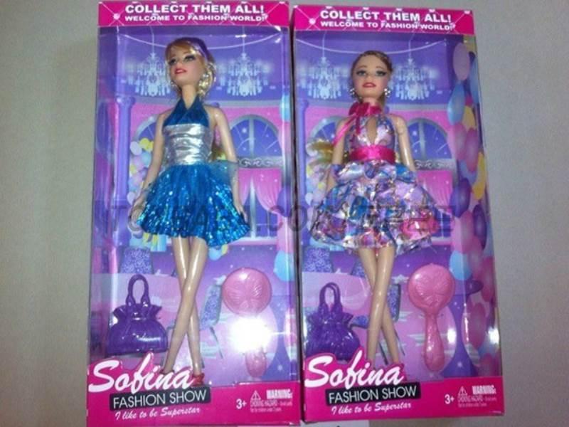 Single Barbie Fashion No.:BBL77116