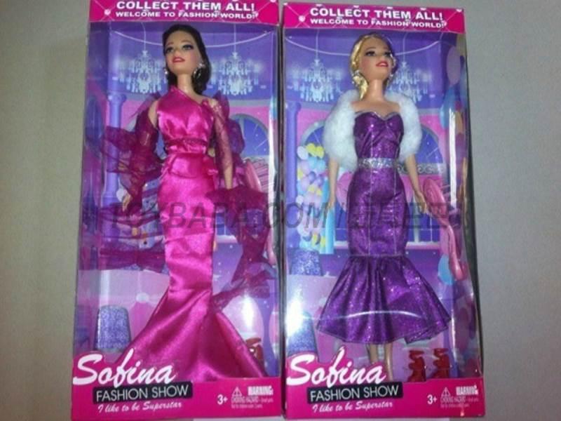 Single Barbie Fashion No.:BBL77117