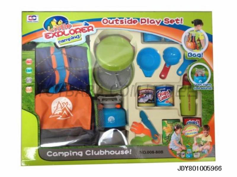 Backpack camping cookware SET No.:008-80B
