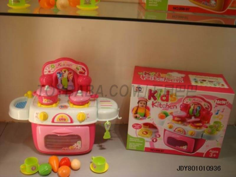 Light music kitchenware storage box ( Pink ) No.:008-87