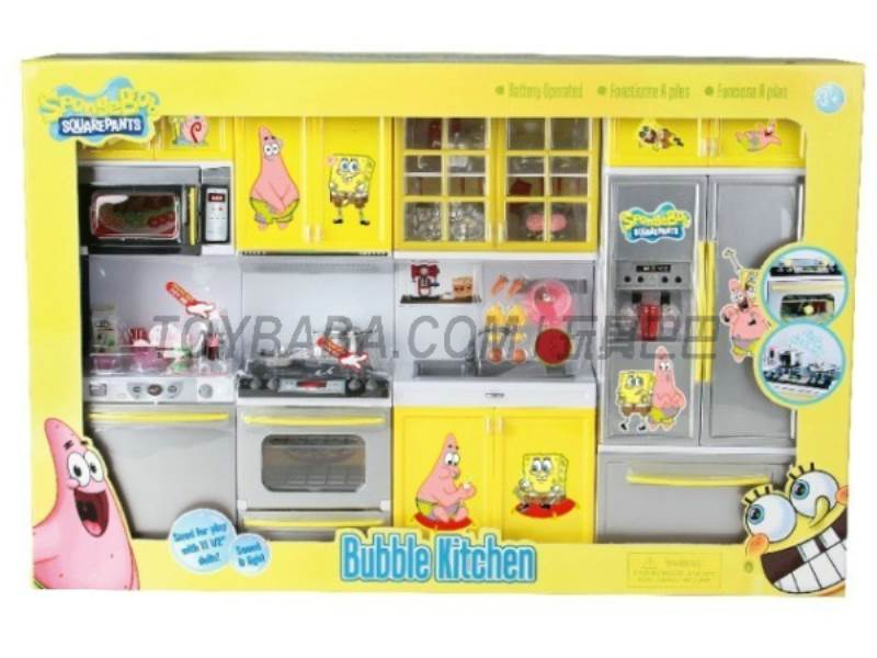 SpongeBob Kitchen Set No.:X221I