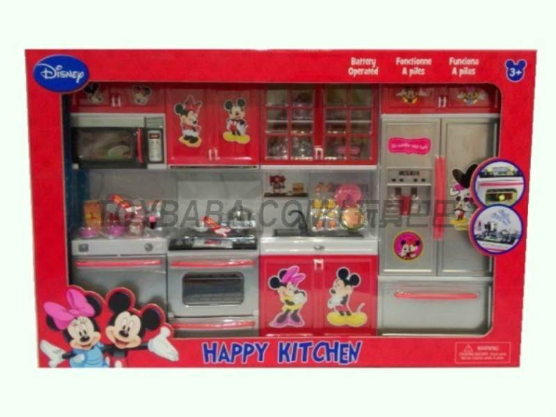 Mickey & Minnie Kitchen Set No.:X221J