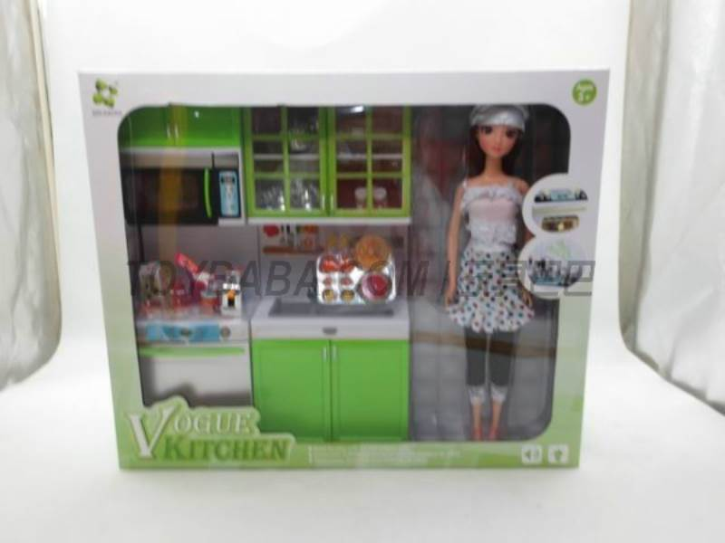 Green Fashion Kitchen No.:X221D5