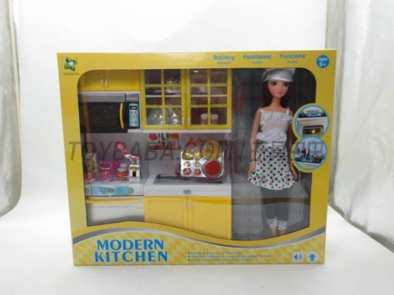 Yellow Fashion Kitchen No.:X221E5