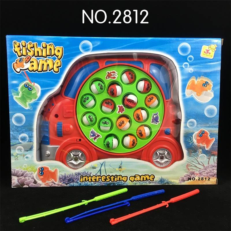 Electric Musical Fishing Toy-Car No.:2812