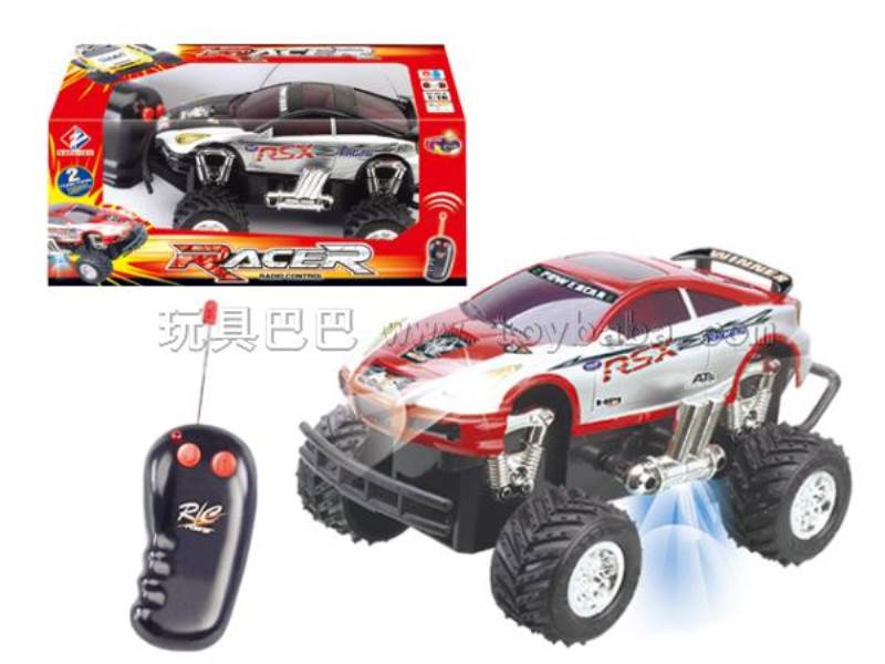 Two-pass off-road remote control car 1:16 (front with light) No.:WF3778-67A