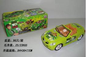 Electric Universal BEN10 Racing Musical Cars with English Song No.:0689B