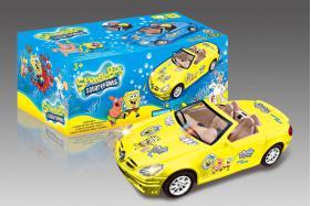 Electric Universal Racing Cars with English Song-SpongeBob No.:0689SB