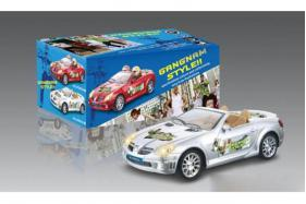 Electric Universal Racing Musical Cars with Song Gangnam Style and Doll Toys No.:0689GS