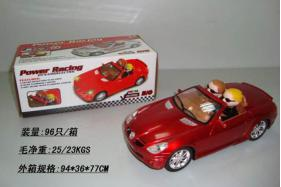 Electric Universal Racing Musical Cars with English Song and  Doll Toys No.:0789A