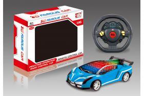 3D 4 Channel Steering Wheel Remote Control RC Cars-Lamborghini No.:6352