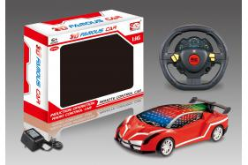 3D 4 Channel Steering Wheel Remote Control RC Cars Included Battery-Lamborghini No.:6352CH