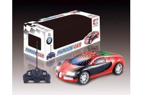4 Channel RC Remote Control Bugatti Cars with 3D Lights No.:6368