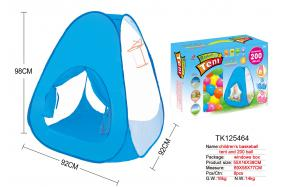 CHILDREN'S BASKETBALL TENT AND 200 BALL No.:TK125465