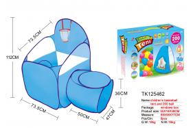 CHILDREN'S BASKETBALL TENT AND 200 BALL No.:TK125462