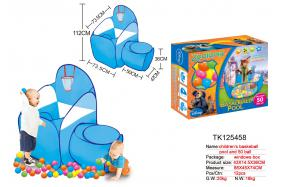 CHILDREN'S BACKETBALL POOL AND 50 BALL No.:TK125461