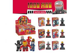 Iron manpeople building block 12 pcs per box No.:ZB204