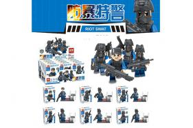 Explosion-proof special police building block 12 pcs per box No.:ZB205