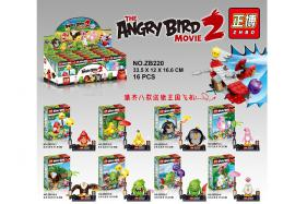 Angry birds building block 16 pcs per box No.:ZB220
