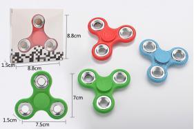 Crack pattern EDC Fidget Spinner Hand Tri-Spinner Fidgets Anti Stress Toys No.:8816D