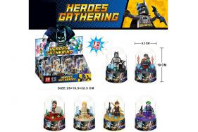 Super hero alliance batman 6 styles  12pcs per box No.:ZB245