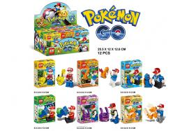 Pokemon series Building block 12pcs per box No.:ZB250