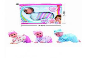 6.5 Inch electric sound singing and crawling doll No.:Sep-27