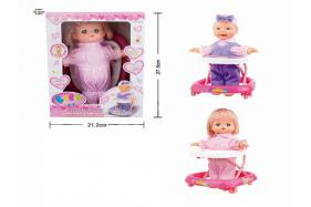 11 Inch electric sound singing and toddlers boy and girl dolls No.:3325G
