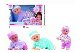 8 Inch electric sound singing dancing and crawling doll No.:Aug-23