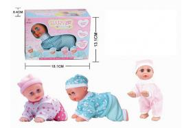 8 Inch electric sound singing dancing and crawling doll No.:Jul-23