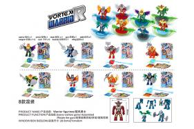 A whirlwind warriors building block 8 style mixed No.:6610