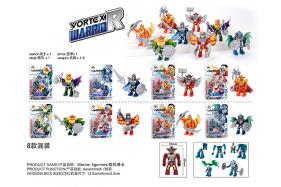 A whirlwind warriors building block 8 style mixed No.:6619