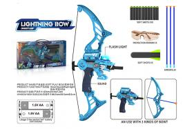 Soft bow gun (shooting/light/sound) No.:GQ3608-2