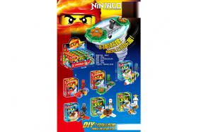 Ninja finger gyro ( 6 style mixed,12 pcs per box) No.:TM6010