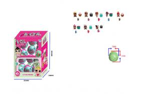 1.5 Inch surprise doll 8 single company + 2 accessory ball pack, 24 ball pack (one style) No.:HT17599