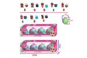 1.5 Inch surprise doll 8 piece accessories 4 box (two styls of single public boy + 2e) No.:HT17597