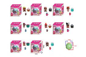 1.5 Inch surprise doll single company + 2 accessories + 70MM box (eight style) No.:HT17596