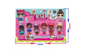 3-3.5 Inch surprise doll 6 pcs (one style) No.:HT17584