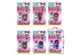 3-3.5 Inch surprise doll Single card only (six style) No.:HT17581