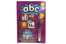 Puzzle memory card (alphabet) No.:914A