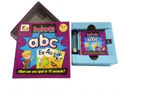 Puzzle memory card (alphabet) No.:914B