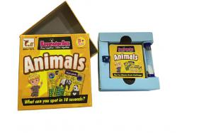 Puzzle memory card (animal) No.:911B