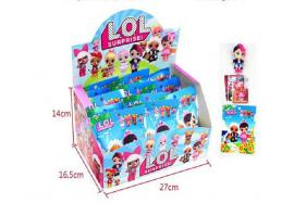 3.5-inch LOL surprise doll 1 + 3 CARDS tin bag for 20 packets/box No.:H28221