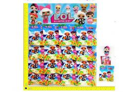 3.5-inch LOL surprise doll 1 + 3 CARDS tin bag 16 packages/plate No.:H28220