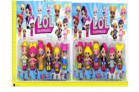 3.5inch LOL surprise doll 6 only/card 2 style No.:H28219