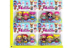 3.5-inch LOL surprise doll 3 only/card 4 style No.:H28218