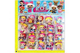 3.5-inch LOL surprise doll 1 + card OPP pack 20 packages/plate No.:H28215