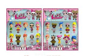 2.8-3.5 inch surprise doll 10 card bags No.:AD28179