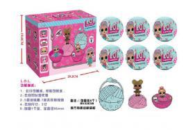 Surprise doll (6 pcs pet  box) No.:7-Q3
